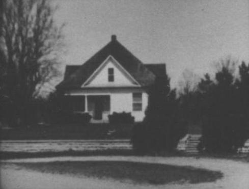 Hays' 1940s home, eventually razed by the Army Core of Engineers