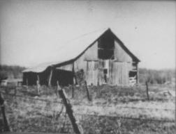 The old barn on Hays' farm